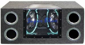 """Pyramid Audio Bnps102 Dual Bandpass System With Neon Accent Lighting [10"""";"""