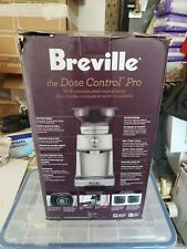 Breville BCG600SIL The Dose Control Pro Coffee Grinder NIB Ships in 24 hours!