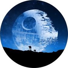 Star Wars Todesstern Eßbar Tortenaufleger NEU Party Deko 123456789 dvd Film