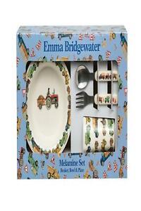 Emma Bridgewater - Herren Bei Arbeit - 6pc Melamin Set - Becher/Schale/Platte/