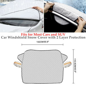 Winter SUV Car Windshield Cover Sun Shade Protector Snow Rain Dust Frost Proof