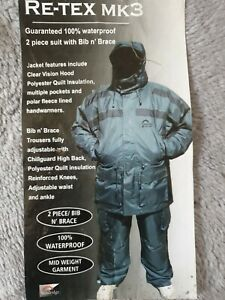 Sundridge RE-TEX MK3 ,2 Piece Suit size medium