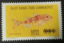 Kuzey Kıbrıs Türk Cumhuriyeti (Cypr Północny) 2000 r. ** Mi. 523 fish Fisch ryby