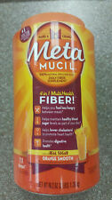 Metamucil Smooth Fiber Orange Texture Powder 114 Doses 48.2 oz 4 in 1 multifiber