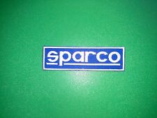 MOTOR RACING OILS, FUELS & TYRES SEW ON / IRON ON PATCH:- SPARCO (a) SEATBELTS