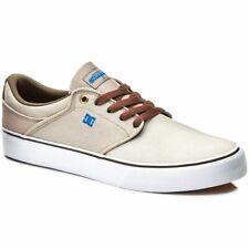 DC SHOES scarpe Mikey Taylor 38 40 42 beige marrone da uomo skate in pelle tonik