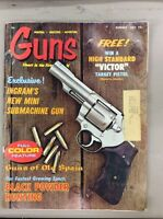 Vintage Guns Magazine Aug 1971 Colt Trooper lll Guns Of Old Spain