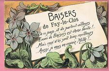 CPA -  FAY LE CLOS  - 26  - BAISERS DE FAY LE CLOS