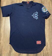 2010s Everett Aquasox Seattle Mariners #30 Stitched Rawlings Blue Jersey XXL