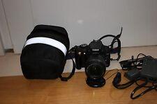 Fotocamera Canon EOS 350D reflex digitale + obiettivo 18-55  + CUSTODIA
