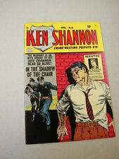 "NICE FINE/VF COPY OF ""KEN SHANNON"" #10 4/53!  REED CRANDALL COVER ART!"