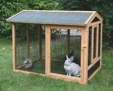Freigehege Freilaufgehege Freilauf Gehege Stall für Kaninchen Nager Hasenstall