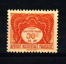 FRENCH WEST AFRICA - AFRICA OCCIDENTALE FRANCESE - 1947 - Segnatasse