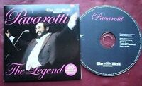 Luciano Pavarotti The Legend Mail on Sunday CD