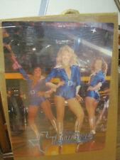 1978 Texas CowGirls Vintage Poster Football, Dallas  10805