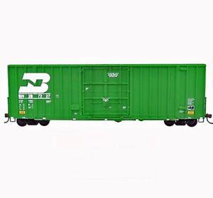 WALTHERS 932-7101 GUNDERSON 50' HI-CUBE PAPER BOXCAR BURLINGTON NORTHERN BN