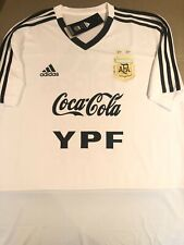 RARE Adidas AFA 2019 Argentina MEDIUM Training Shirt WHITE