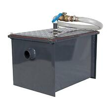 BK Resources BK-SGI-40 40 lb Semi-Automatic Grease Interceptor w/ Drawoff