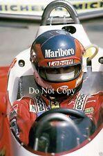 Gilles Villeneuve Ferrari Spanish GP 1978 Photograph