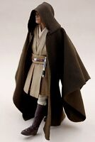 "MY-R-MW: FIGLot Jedi Fabric Cloak Robe for 6"" Star Wars Mace Windu (No Figure)"