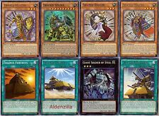 Yugioh Triamid Deck - Giant Soldier of Steel, Sphinx, Master, Cairngorgon