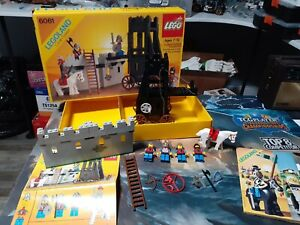 Vintage Rare 1984 Castle Lego Set 6061 with Box and Manual 100% Complete NICE