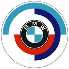 """BMW Rondel Vintage Emblem Decal Sticker 4"""" Round"""