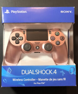 Official Sony PS4 DualShock 4 Wireless Controller v2 [ Rose GOLD Edition ] NEW
