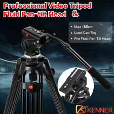 Kenner 1.89m Professional Tripod Kit With Fluid Pan Head For Camera Camcorder