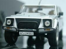 WOW EXTREMELY RARE Lamborghini LM002 SUV 5.2L 4WD V12 48V Silver 1:43 Minichamps