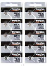 ENERGIZER 364/363 SR621W SR621SW (10 piece) BATTERIES Sealed Authorized Seller