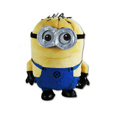 New Despicable Me Minion Jerry Two Eyes For Kids Boy Girl Plush Backpack
