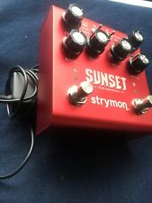 Strymon Sunset Dual Guitar Overdrive Pedal Excellent condition