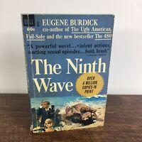 THE NINTH WAVE - Eugene Burdick, Paperback, Eight Ed. 1964