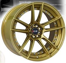 "18"" NEW XXR 969 NEW WHEELS AND TYRES XXR GOLD STRETCHED WHEELS"