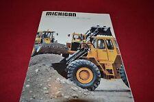 Michigan L50 L70 L90 L120 L160 Wheel Loader Dealer's Brochure DCPA4