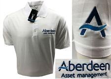 Adidas Tonal Stripe Golf Polo Shirts - S L XL & XXL - Ex Scottish Open Uniform