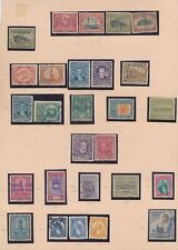 XC16535 Guatemala 1920 -1942 nice lot of good stamps used