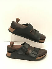 Birkenstock Birki's Leather Strap Sandals 260 Size 40 Unisex Made in Germany