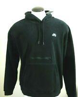 Nike SB Mens Skate Polar Fleece Pullover Hoodie Sweatshirt Black Size Large NWT