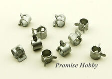 10pcs 5mm diameter metal fuel line clamp for rc boats cars airplanes helicopters