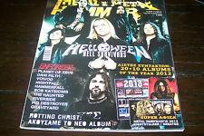 METAL HAMMER MAGAZINE 1/2013 HELLOWEEN ENFORCER VOIVOD RIVERSIDE HAMMERFALL