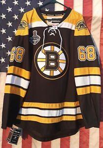 JAROMIR JAGR 2013 BOSTON BRUINS STANLEY CUP Reebok CCM 3XL JERSEY New with TAGS