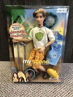 My Scene Jammin' In Jamaica Hudson Mattel Barbie Boy Doll 2003 New In Package