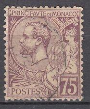 TIMBRE  MONACO OBL N° 19   PRINCE ALBERT 1°