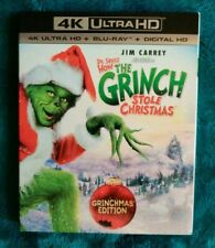 How the Grinch Stole Christmas (4K Ultra Hd Blu-ray, 2017) with Slipcover