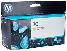 Hp Designjet Z2100-Yellow Inkjet Ink-130 Ml Page Yield Hewc9454A New