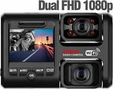 New listing Pruveeo D30H Dash Cam with Infrared Night Vision and WiFi, Dual 1080P