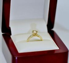 Cognac Diamond Yellow Gold Fine Rings