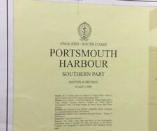 ADMIRALTY SEA CHART. PORTSMOUTH HARBOUR, SOUTH. NO.2629. ENGLAND S. COAST. 1980